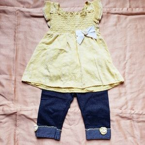 Other - Adorable Spring Yellow Outfit
